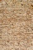 Hundra-År-gammal tegelstenvägg Arkivfoto