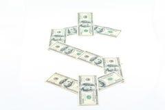 Hundra dollar av Amerika Royaltyfri Fotografi