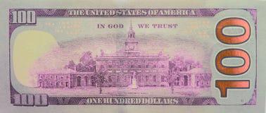Hundra dollar - 100 dollar Bill Stock Photos Royaltyfri Fotografi