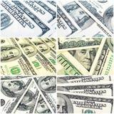 Dollarbakgrund royaltyfri fotografi
