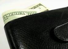 hundra en plånbok Arkivfoto
