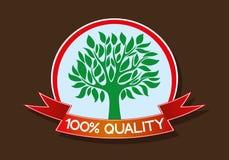 hundra en procent kvalitet Royaltyfria Foton