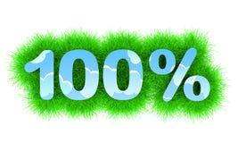 hundra procent Arkivfoton