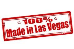 Hundra procent som göras i Las Vegas royaltyfri illustrationer