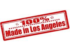 Hundra procent som göras i Los Angeles vektor illustrationer