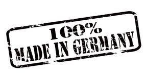 Hundra procent som göras i Tyskland royaltyfri illustrationer