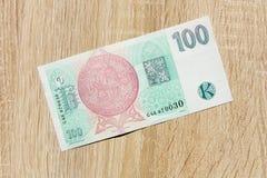 Hundra tjeckiska kronor Royaltyfria Foton