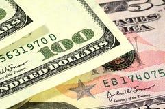 Hundred. Dollar Bill Royalty Free Stock Image