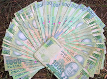 Hundred bucks in terms of Malawian Kwacha in the largest denomin Royalty Free Stock Photo
