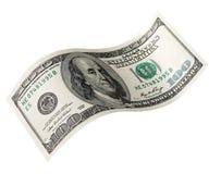 Hundred dollar. One Hundred Dollar,us dollar Royalty Free Stock Photo