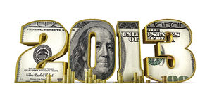Hundred dollar 2013 Royalty Free Stock Photos