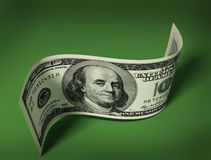 Hundred dollar banknote Stock Photography