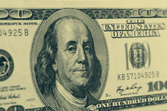 Hundred dollar banknote Stock Image