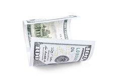 Hundred dollar banknote Royalty Free Stock Photo