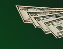 Hundred dollar banknotes Stock Photography