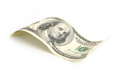 Hundred dollar bill Royalty Free Stock Photography