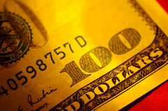 Hundred Dollar Bill royalty free stock photos