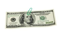 Hundred dollar bill Stock Photography
