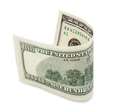 Hundred dollar bill Royalty Free Stock Images
