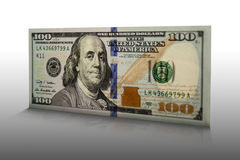 Hundred dollar bill 002 Royalty Free Stock Images