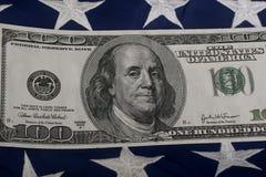 Hundred Dollar Bill. Stock Photography