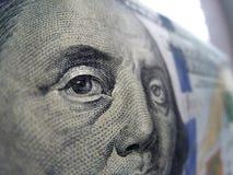 Hundred dollar bill Stock Image