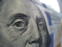 Hundred dollar bill Royalty Free Stock Photo