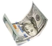 Hundred dollar bill Royalty Free Stock Image