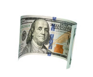 Hundred dollar bill Royalty Free Stock Photo