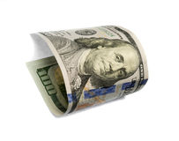 Hundred dollar bill Stock Photos