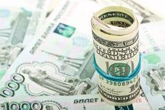 Hundred Dollar Bill Macro Stock Photography