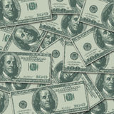 100 Hundred Dollar Bill Money Currency Background Royalty Free Stock Image
