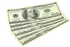 Hundred dollar bill Stock Image