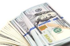 Hundred dollar bill Stock Photography