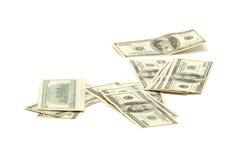 Hundred dollar bills Royalty Free Stock Images