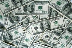 Hundred dollar bills. For background use Stock Image