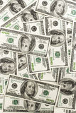 Hundred dollar bills. Close up of hundred dollar bills Royalty Free Stock Photography