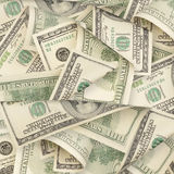 Hundred Dollar Bills Royalty Free Stock Image