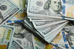 Hundred dollar bills Stock Photography