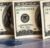 Hundred dollar bills Royalty Free Stock Photos
