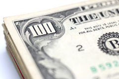 Hundred Dollar Bills Stock Photo