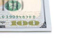 Hundred Dollar Bills Royalty Free Stock Images