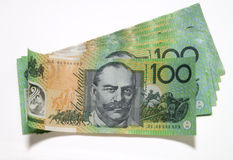 Hundred dollar notes Stock Photo