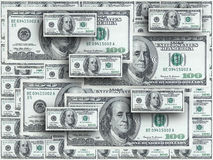 Hundred dollar notes Royalty Free Stock Photography