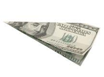 Hundred Dollar Plane. Stock Photo