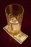 Hundred Dollar Tip Stock Photo
