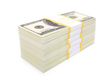 Hundred dollars Royalty Free Stock Images