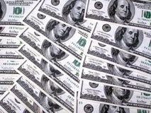 Hundred dollars. Hundreds American dollars stock images