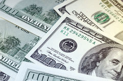 Hundred Dollars for background Royalty Free Stock Images