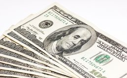 Hundred Dollars Bill Royalty Free Stock Photography